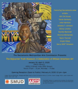 SMUD Presents SoJo Museum: A Celebration of African American Art - Jan 31 - Apr 2, 2020 @ SMUD Art Gallery