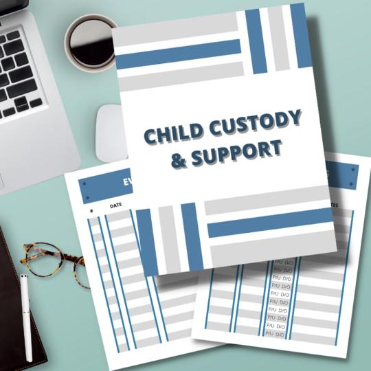 child custody binder organizer divorce law family lawyer attorney lena nguyen