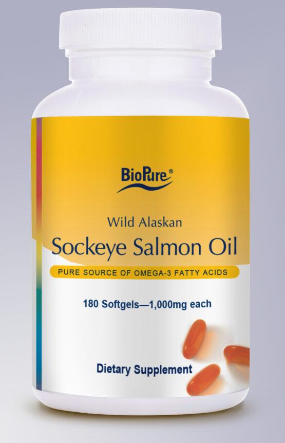 BioPure Sockeye Salmon Oil