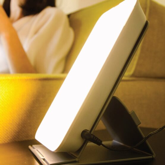 THERALITE 10,000 LUX MOOD AND ENERGY ENHANCING BRIGHT LIGHT THERAPY LAMP