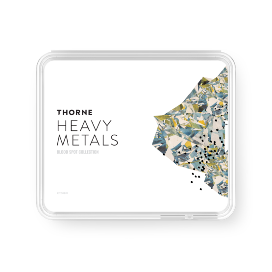 Thorne At Home Heavy Metals Test