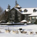 This Luxury Log Hotel near Montreal is Perfect for Your Next Romantic Winter Getaway