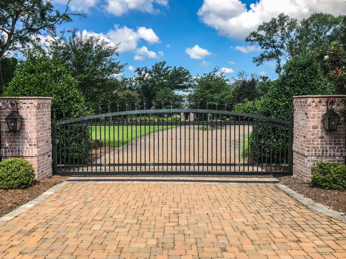 Slide Gate | Johnson Communications | Gate Sales, Service, Installation and Design | Pensacola FL