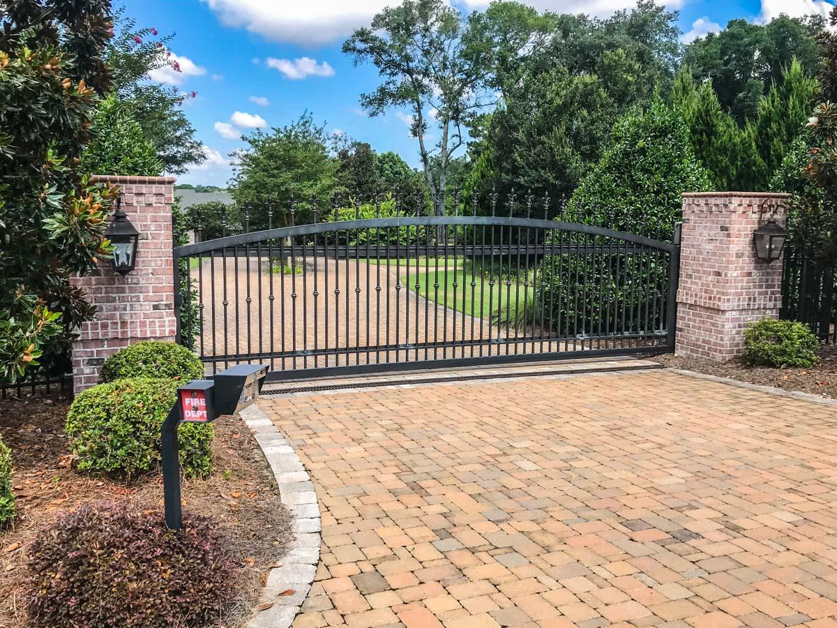 Slide Gate   Johnson Communications   Gate Sales, Service, Installation and Design   Pensacola FL