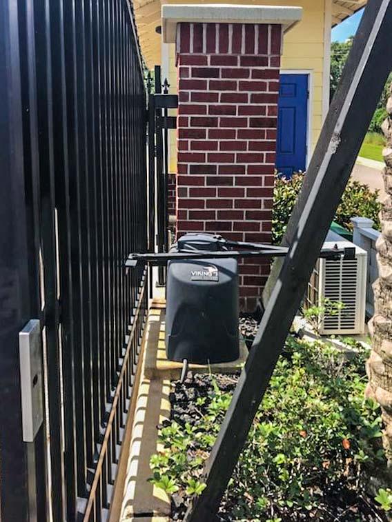 Swing Gate | Johnson Communications | Gate Sales, Service, Installation and Design | Pensacola FL