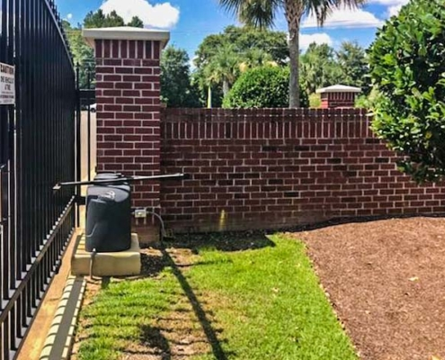 Swing Gate | Johnson Communications | Gate Sales, Service, Installation and Design | Pensacola FL