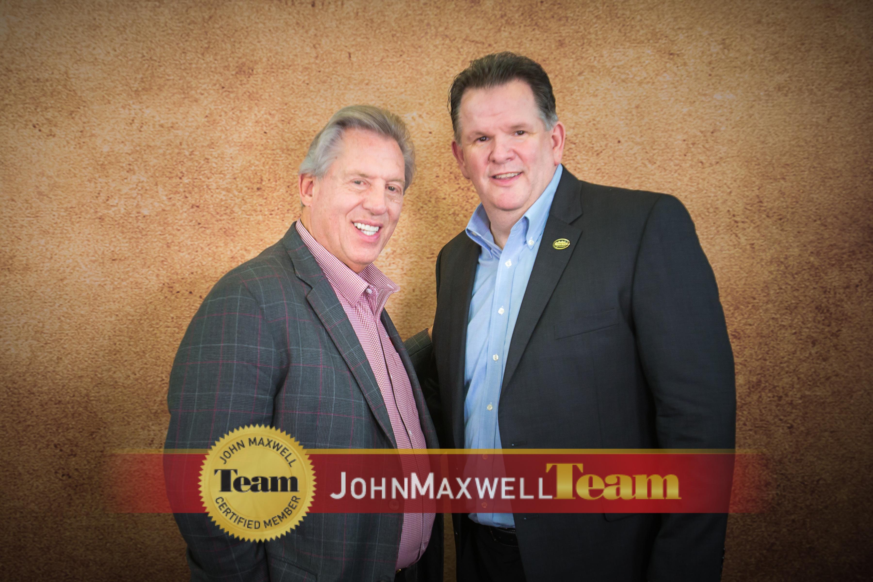 John Maxwell and Dr. Robert Riza.