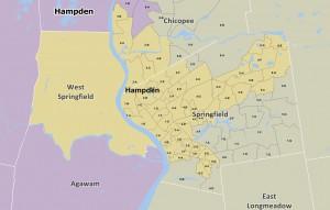 The Reconfigured Hampden Senate District (malegislature.gov)