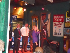 Elizabeth Warren in Springfield in 2012. Cities like Springfield delivered for Warren and 3 1/2 years later, Clinton, too. (WMassP&I)