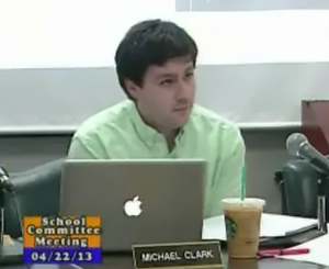 Michael Clark at Committee Mtg (Screen capture from LCTV)