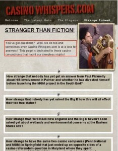 """A screenshot of the """"Strange Indeed"""" page (casinowhispers.com via Google cache)"""