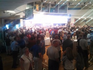 The Crowd at the Hall of Fame shortly after Cocchi's announcement (WMassP&I)