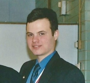 Eric Lesser while in High School, date unknown (courtesy Mark Bail via Facebook)