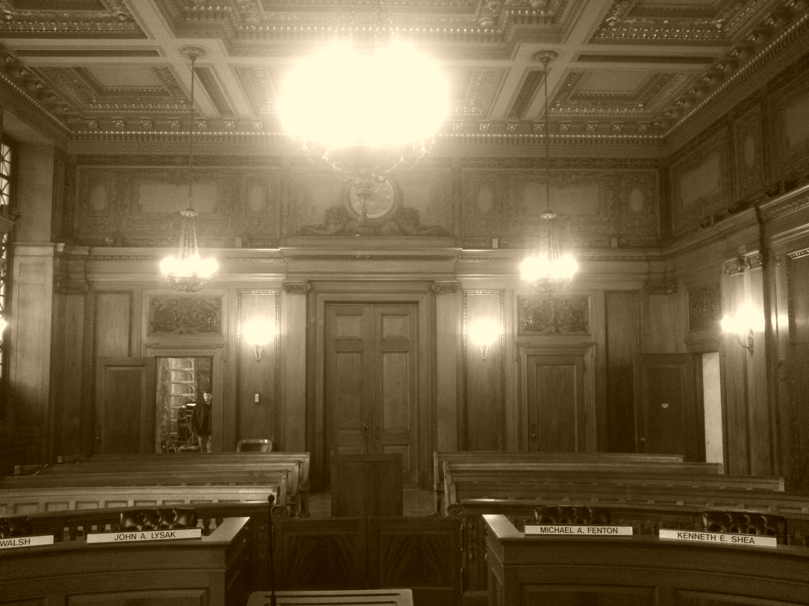 Springfield Council chambers