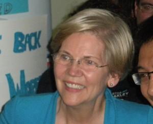 Senator Elizabeth Warren. (WMassP&I)