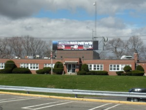 The home of the combined operations of WGGB & WSHM on Liberty Street (WMassP&I)I)