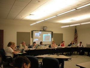 The Longmeadow School Committee last Monday (WMassP&I)