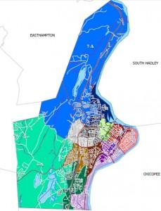 Holyoke Ward map (via mass.gov)