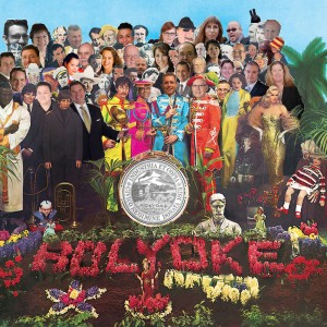 For such a small city, it will be one hell of an election in Holyoke (created via various public images & Apple Records album cover)