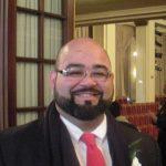 Councilor Adam Gomez in January (WMassP&I)