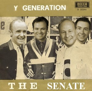 The Debut of the Generation Y initiative. Rosenberg, second left is hoping to the Senate can reach more Millennials, like Senators Downing, Lesser and Fattman, all born in the 1980's.