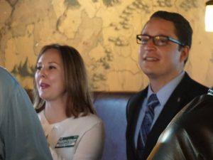 Cynthia Lewis and Jerome Parker-O'Grady (via Facebook/Parker-O'Grady campaign)