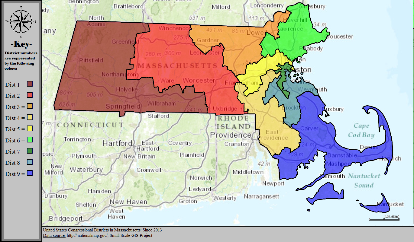 Mass Congressional Districts