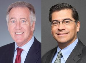 US Reps Richard Neal and Xavier Becerra (via Twitter/@RepRichardNeal & @RepBecerra)