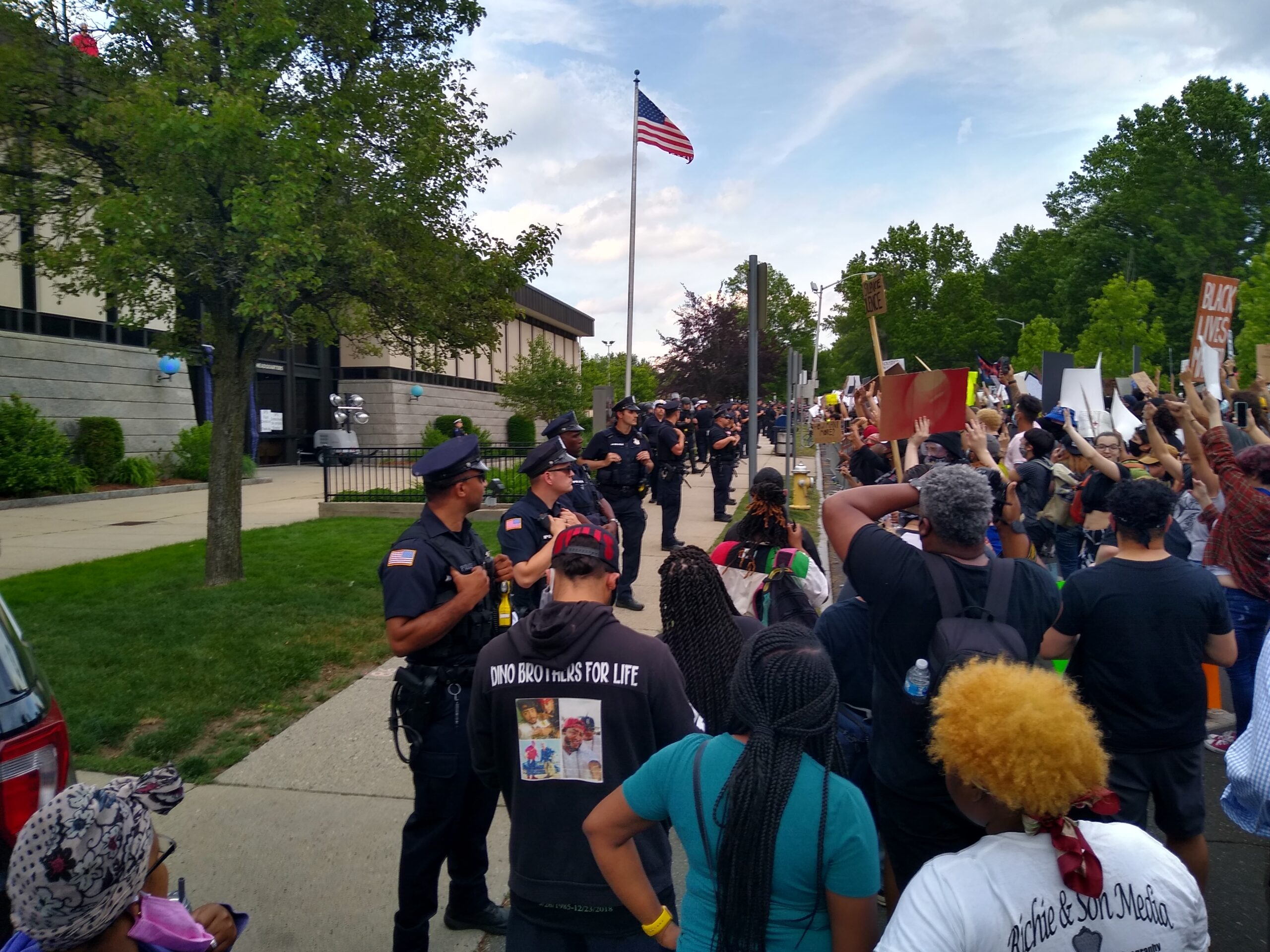 George Floyd Protest in Springfield, MA