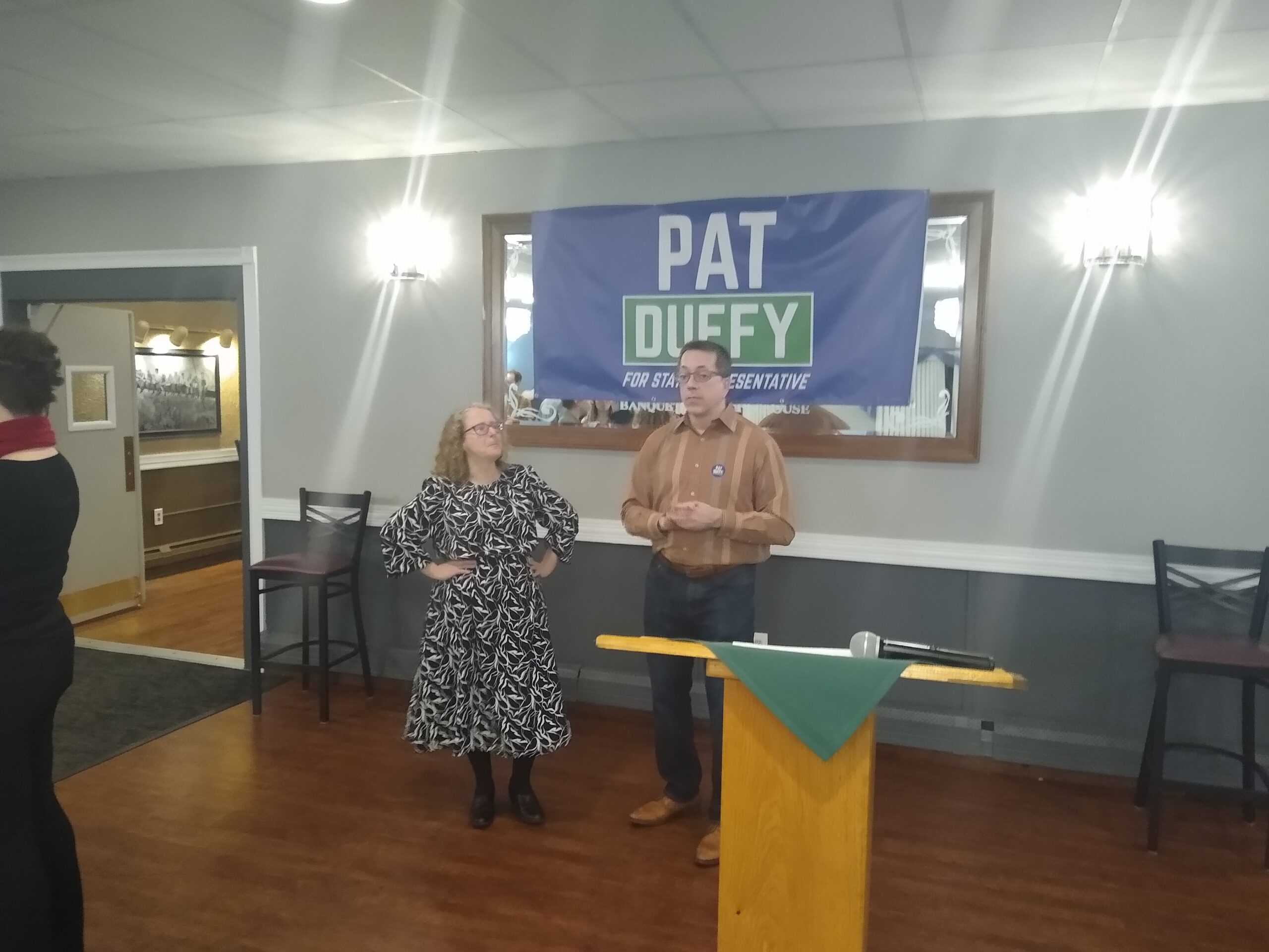 Pat Duffy & Aaron Vega