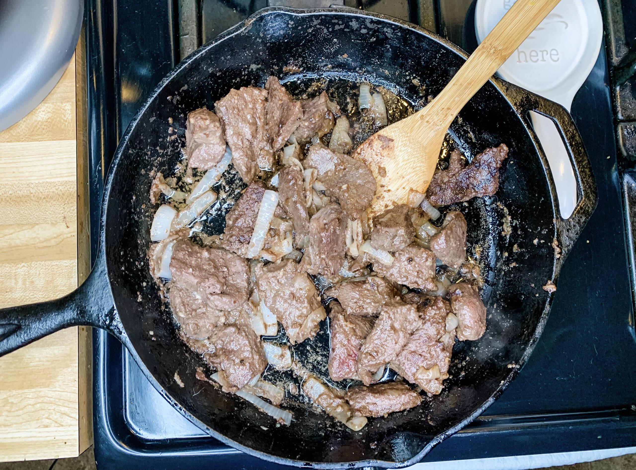 Juicy Deer Steak