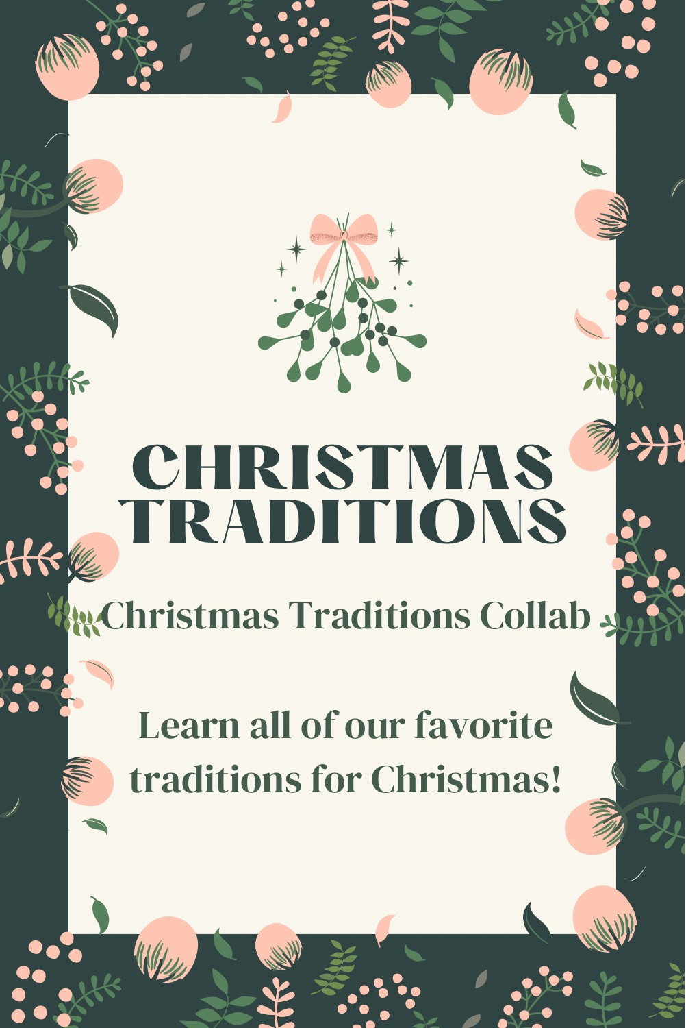 christmas traditions collar pin