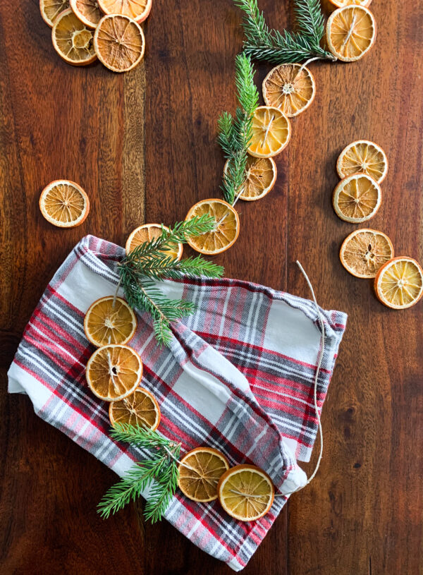 DIY Dried Orange Garland & Ornaments