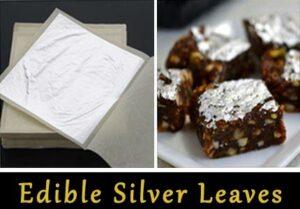 Edible Silver Varakh, Edible Silver Vark, Edible Silver Foil