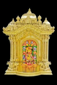 Gold Gilding on Temple