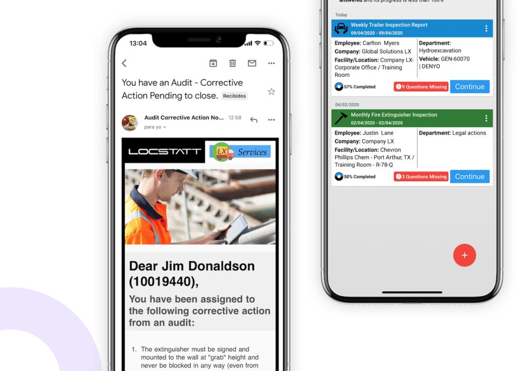 Locstatt - Mobile application