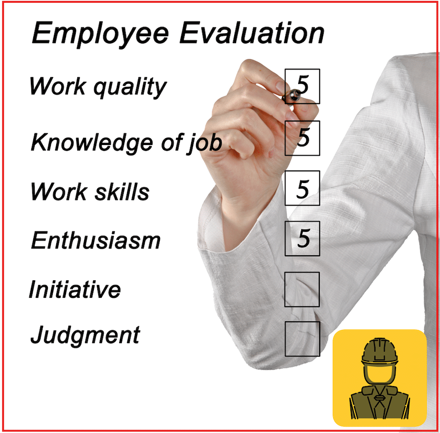 Employee Evaluations – new option in Audits