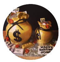 Show-me-the-money-birthday-cake