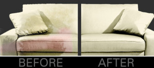 Furniture Cleaning Before After