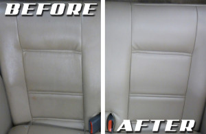 Leather Before After