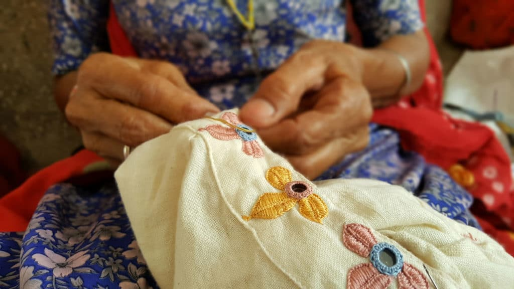 Hand Embroidery – A Thread and A Needle