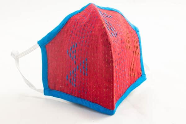 RA Studio Designer Dust Protection Embroidery Mask Cotton Reusable