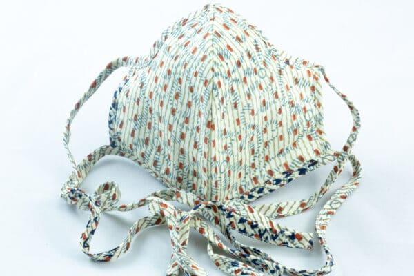 RA Studio Designer Dust Protection Tie Up Mask Cotton Reusable