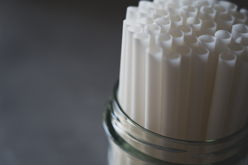 Biodegradable PLA + plant based Straw