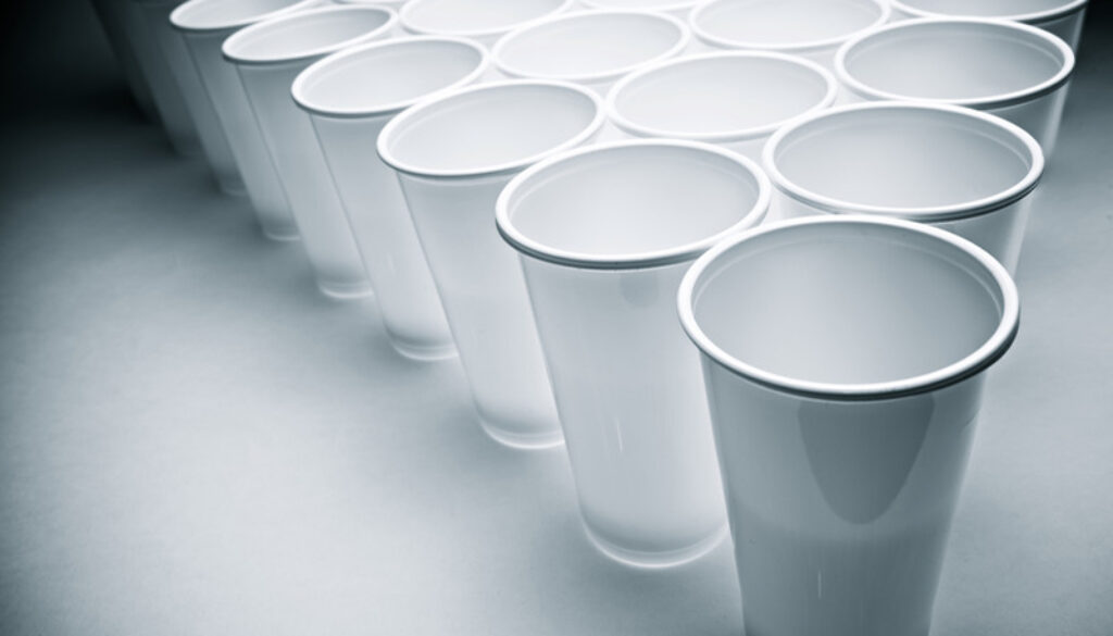 disposable bio plastic cups