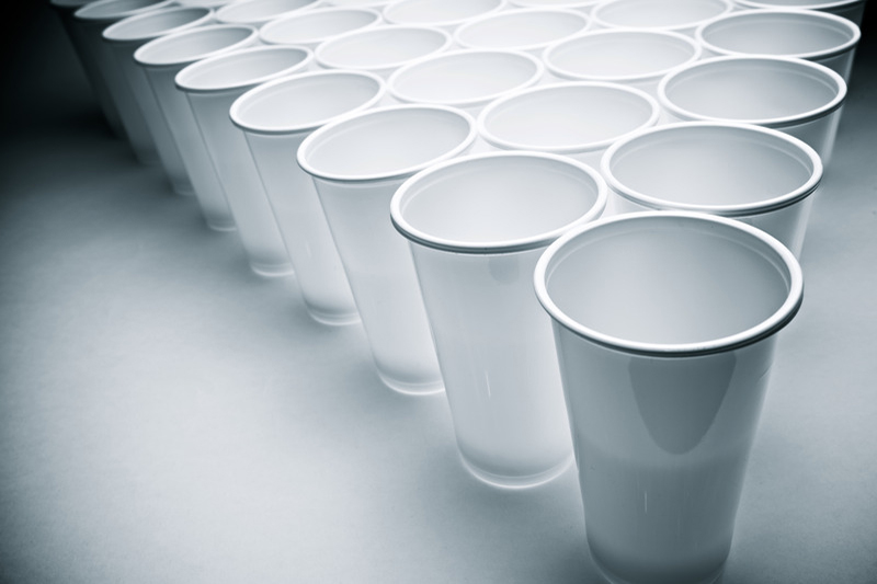 Biodegradable PLA + Plant based Cup Various Sizes