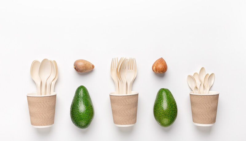 Eco plastic- Great alternative to plastic disposable tableware