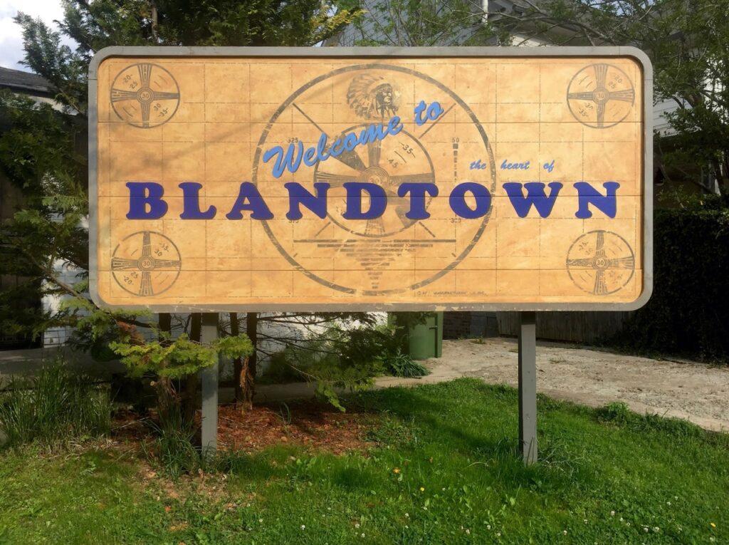 Heart of Blandtown billboard