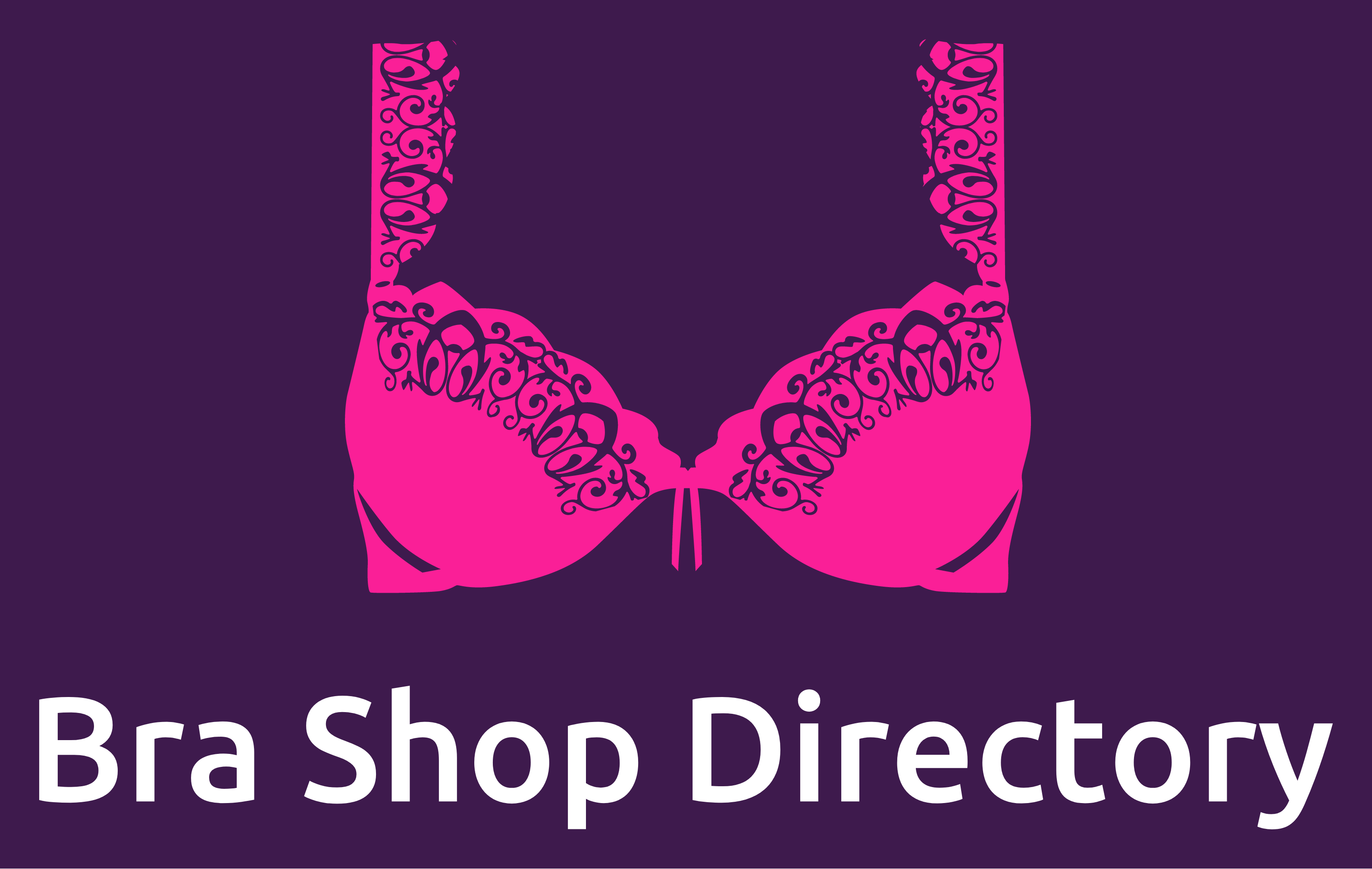 Bra Shop Directory - Pink and Purple logo