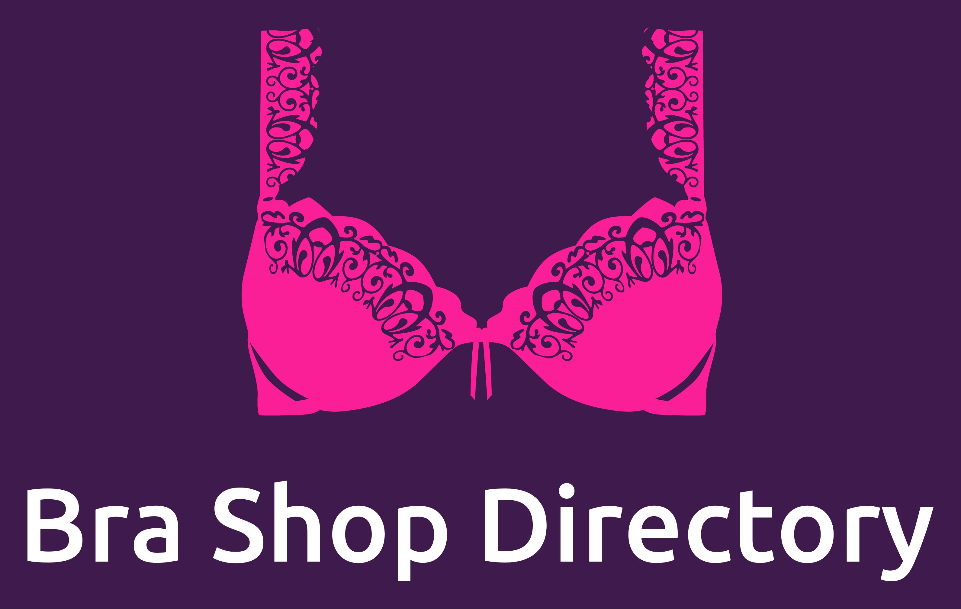 Bra Shop Directory - Pink and Purple logo